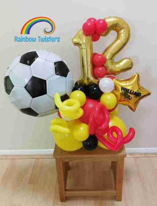 Basic Birthday Balloons Rainbow Twisters