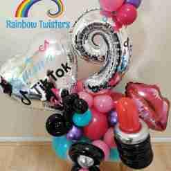 Social Media Birthday Balloons Rainbow Twisters Glasgow Balloon Company