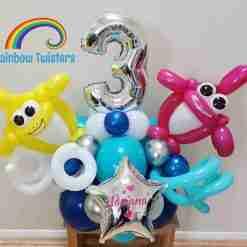 Under The Sea Birthday Balloons Rainbow Twisters Glasgow Balloon Company