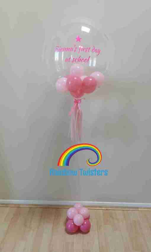 Bubble Balloons Rainbow Twisters Glasgow Balloon Company