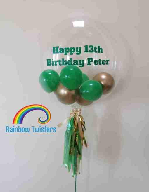 Bubble Balloon Rainbow Twisters Glasgow