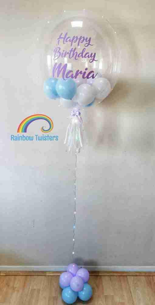 Bubble Balloons Rainbow Twisters Glasgow Balloons
