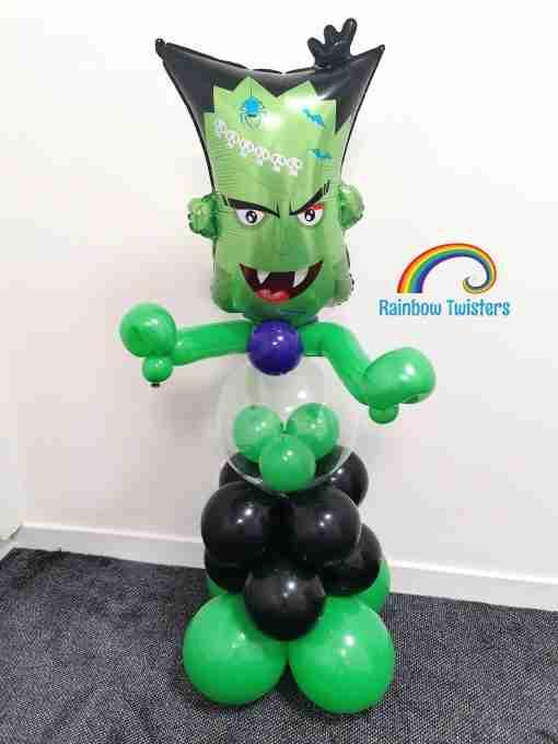 Halloween Balloon Column Glasgow