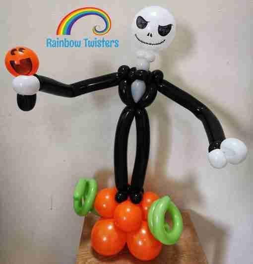 Skeleton Balloon Glasgow