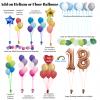 Add on helium or floor balloons