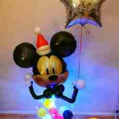 Mickey and Minnie Mouse Balloon Rainbow Twisters Glasgow
