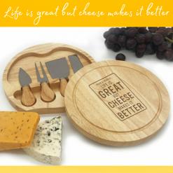 Personalised Cheese Board Rainbow Twisters Custom Gifts