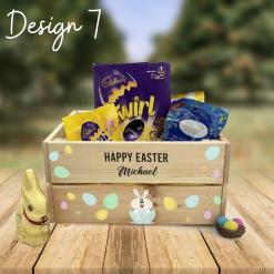 Personalised Easter Box Rainbow Twisters