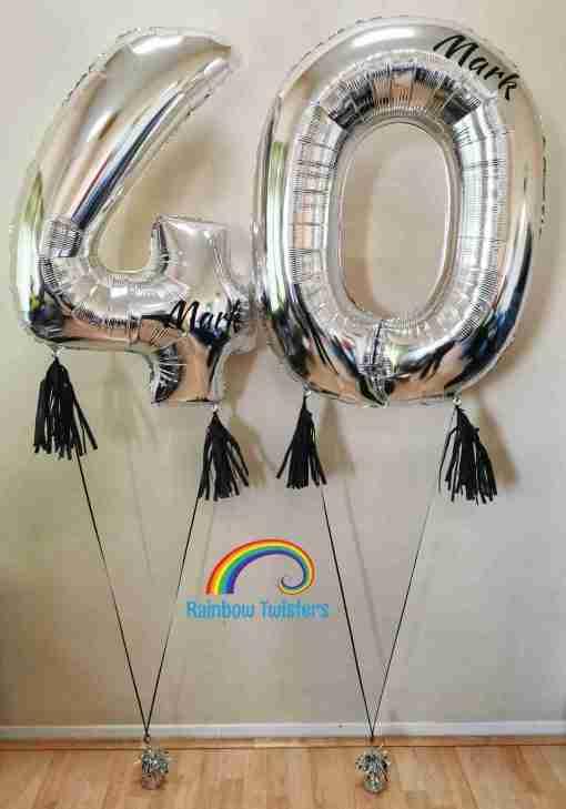Floating Helium numbers Rainbow Twisters Glasgow