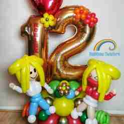 Game Themed Balloons Rainbow Twisters Glasgow Balloon Company