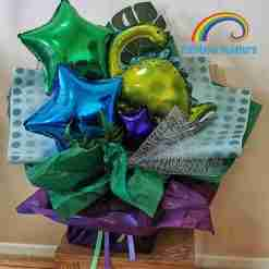 Dinosaur Balloon Bouquets Rainbow Twisters Balloon Gifts and Delivery