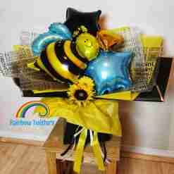 Bumblebee Balloon Bouquets Rainbow Twisters Balloon Gifts and Delivery