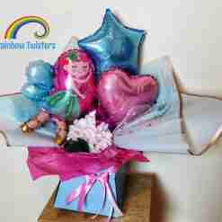Fairy Balloon Bouquets Rainbow Twisters Balloon Gifts and Delivery