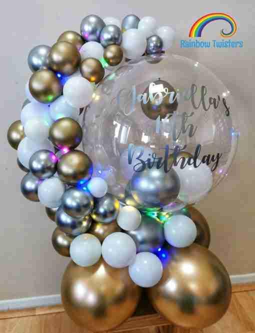 Balloon Hug Rainbow Twisters Glasgow