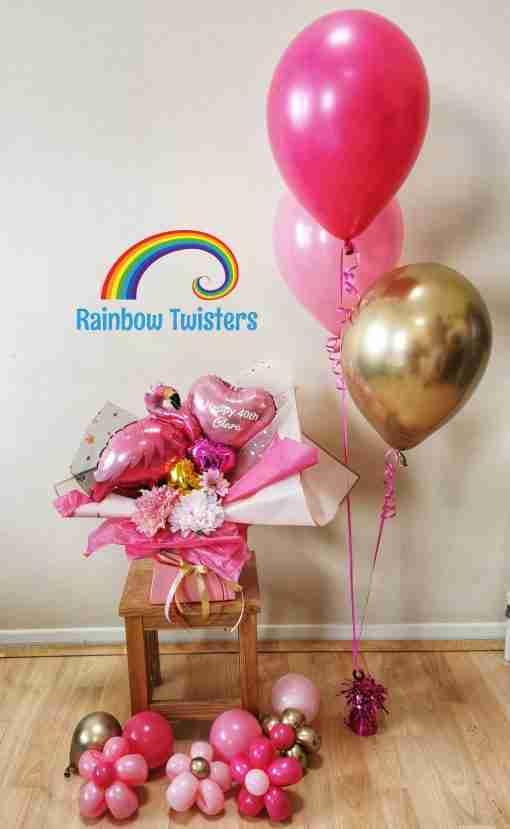 Bouquet Box by Rainbow Twisters
