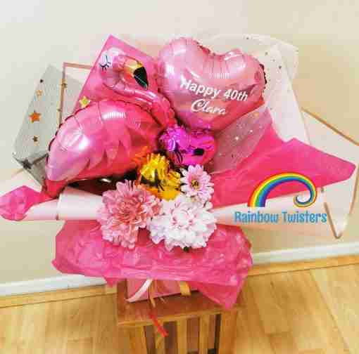Bouquet Box by Rainbow Twisters UK Delivery