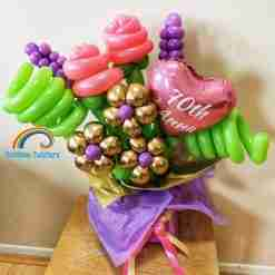 Flower Bouquet Box UK Rainbow Twisters