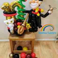 Themed Balloon Box by Rainbow Twisters UK delivery