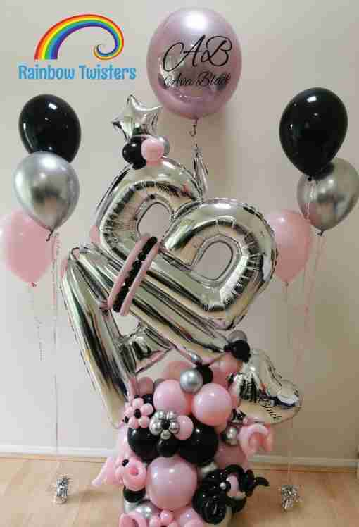 Deluxe Balloon Bundle by Rainbow Twisters Glasgow