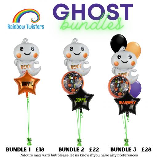 Floating Halloween Balloon Bundles